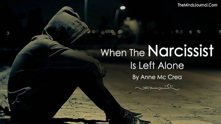 WHEN THE NARCISSIST IS LEFT ALONE. Life gives back to them exactly what they deserve, loneliness and isolation. Those who once cared are long gone - OH WOW, it did !!