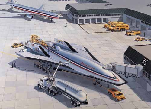 Future Passenger Aircraft