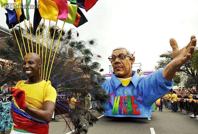El salsódromo, el carnaval de Cali Viejo y el resto de eventos de la Feria de Cali 2012 fueron un derroche de colorido. El arco iris también estuvo de fiesta en la Sucursal del Cielo.