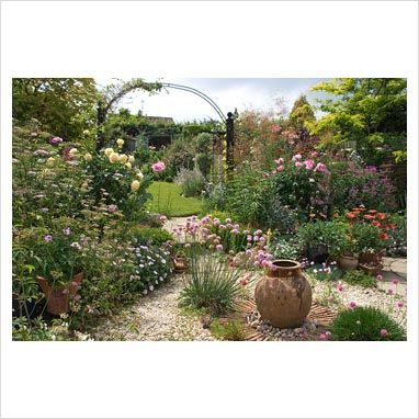 lovely gravel garden...