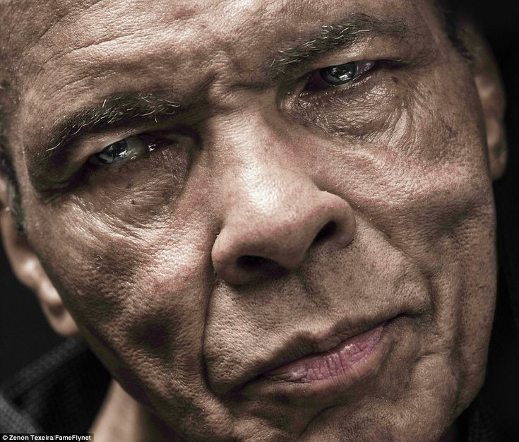 The Greatest:The harrowing effects of more than three decades fighting Parkinson's can be seen in extraordinary images of Ali published today for the first time