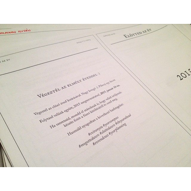 """vegeztem veled #2014 #eviranytu #yearcompass #mogottedazev #elottedazev #theyearahead #evrendezes #yearplanning"""