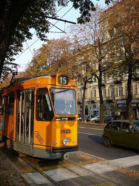 Turin - Corso Re Umberto by bautisterias, province of Turin , Piemonte region Italy .
