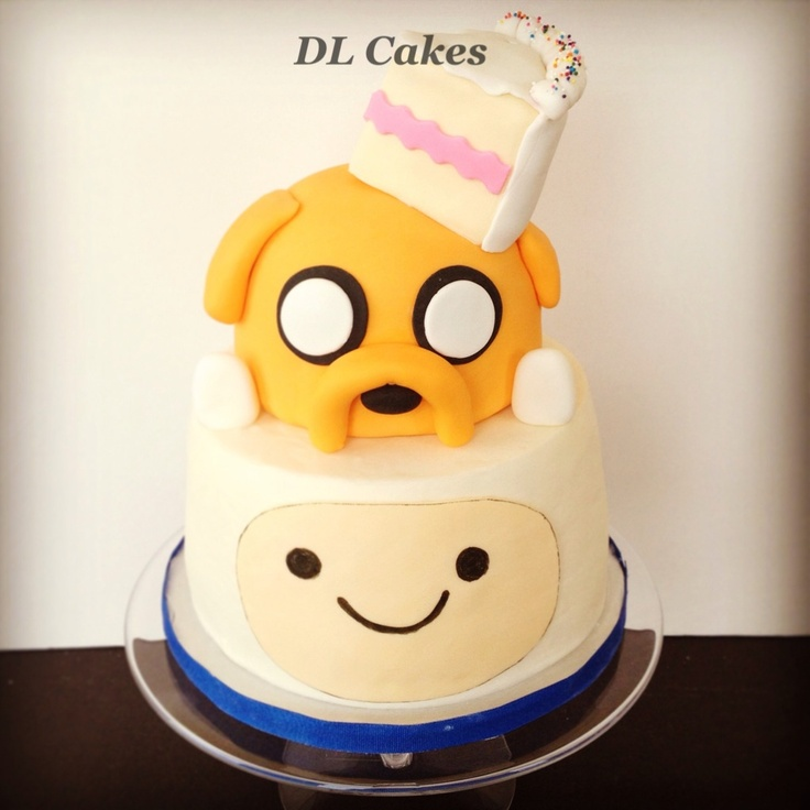 Cake Design Adventure Time : 17 Best images about ADVENTURE TIME Fondant Cake on ...