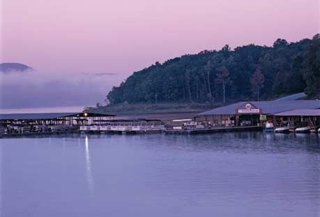 Fairfield Bay, Arkansas.Not too far away. Great place to spend a few days with the family.
