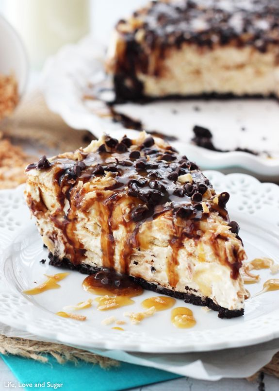 No Bake Samoa Cheesecake   20 Cheesecakes To Dream About Tonight