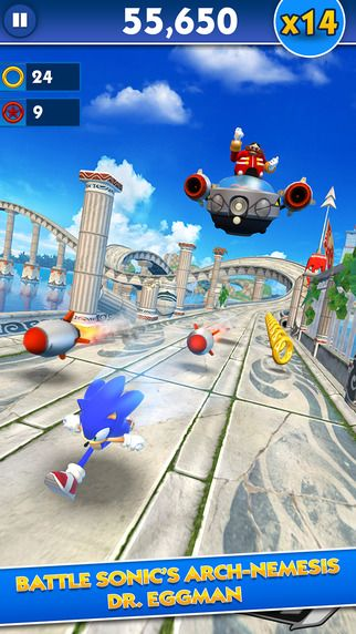 There's something wrong with the world if no one made a Sonic endless runner game on mobile