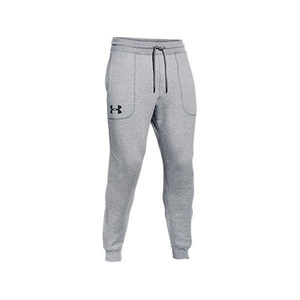 Under Armour Men's Charged Cotton Heavyweight Jogger Sweatpants ($30) ❤ liked on Polyvore featuring men's fashion, men's clothing, men's activewear, men's activewear pants, b o t t o m s, grey, mens activewear pants, mens jogger sweatpants, mens sweatpants and mens drawstring sweatpants