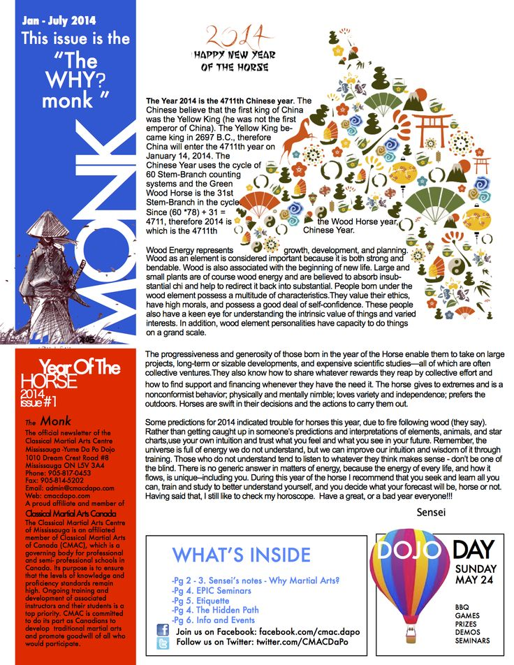 2014 Newsletter #1 - The Why? Monk Read the full newsletter here: http://www.cmacdapo.com/Files/cmac_mississauga_newsletter_2014_thewhymonk.pdf