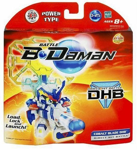 Battle B-Daman Direct Hit Figure: Cobalt Blade by Hasbro. $19.99. Comes with removable armor you can attach to other B-Damans (sold separately) to create a winning blaster all your own. Includes unassembled blaster, three regulation B-Daballs, armor components and target pin. Also for use with B-Daman event surfaces (sold separately). Also includes Direct Hit Battle armor components and instructions. Go head-to-head with awesome Direct Hit Battle B-Daman action! Customize ...
