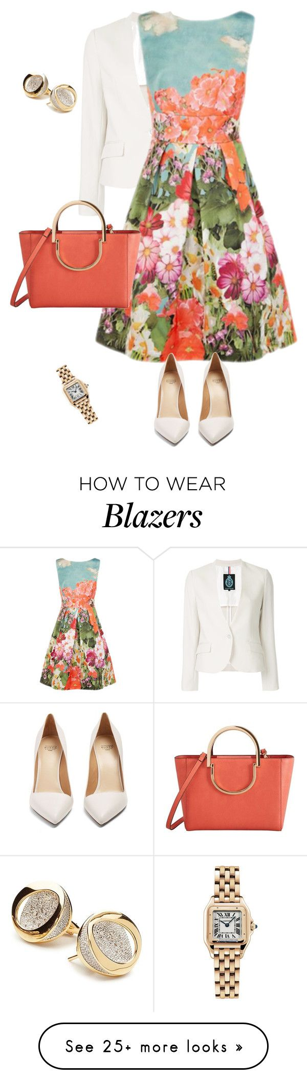 """""""outfit 7612"""" by natalyag on Polyvore featuring Guild Prime, Francesco Russo, MANGO, ANTONINI and Cartier"""