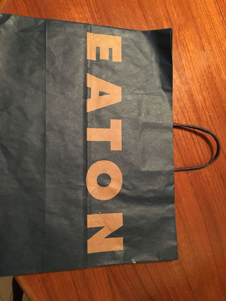 Eaton's bag