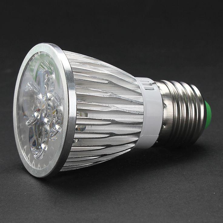 Hot selling E27 LED Spotlight lamp for chandelier downlight warm/cold white lamparas LED Spotlight bulb E27 led light bulbs 220v