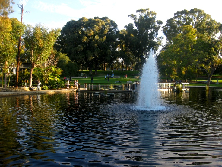 Fountain in Kings Park