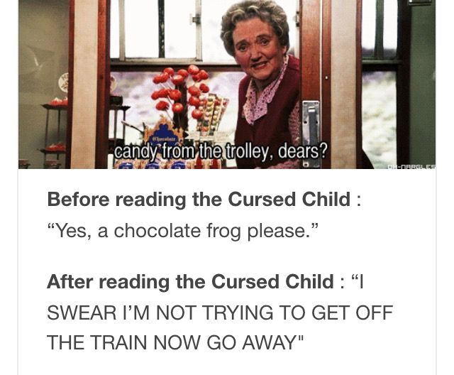 THE CURSED CHILD RUINED HER