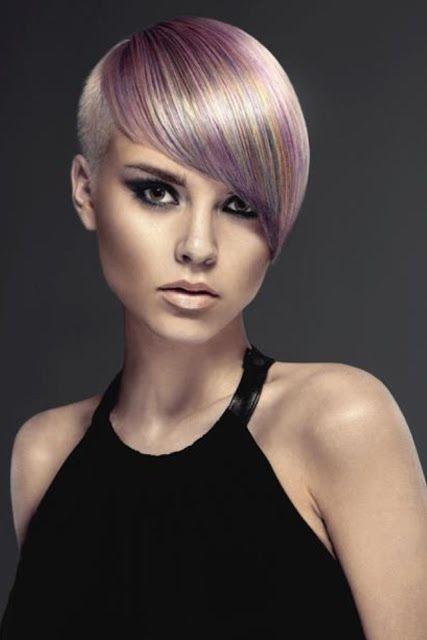 Wspaniałe kolory włosów krótkich i średnich!