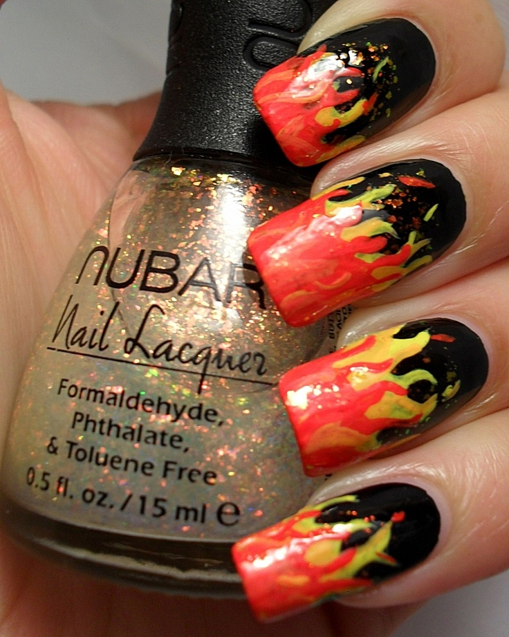 16 best nails images on Pinterest | Fire nails, Flare nails and Nail ...