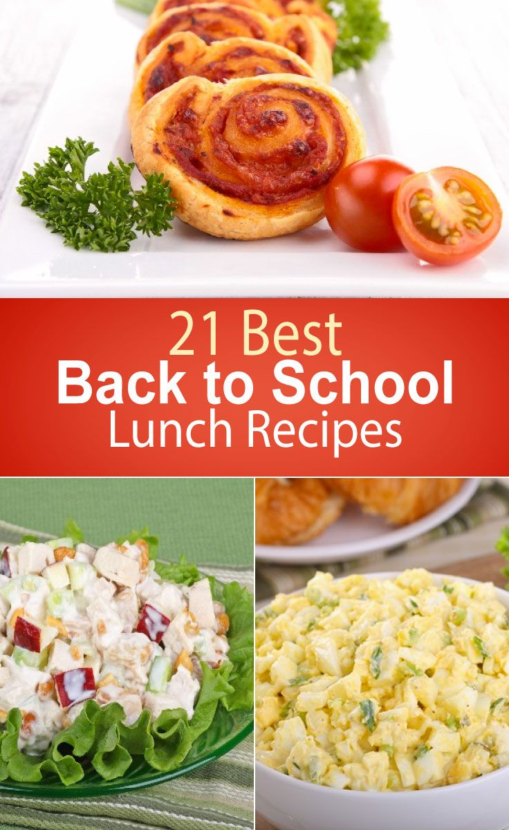 Best Food For School Lunches