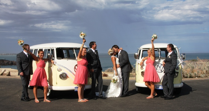 Kombi wedding at Port Elliot