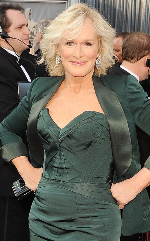 Glenn Close- in my opinion, a great actress is marked by her ability to have a wide range of characters. Glenn is an excellent example.