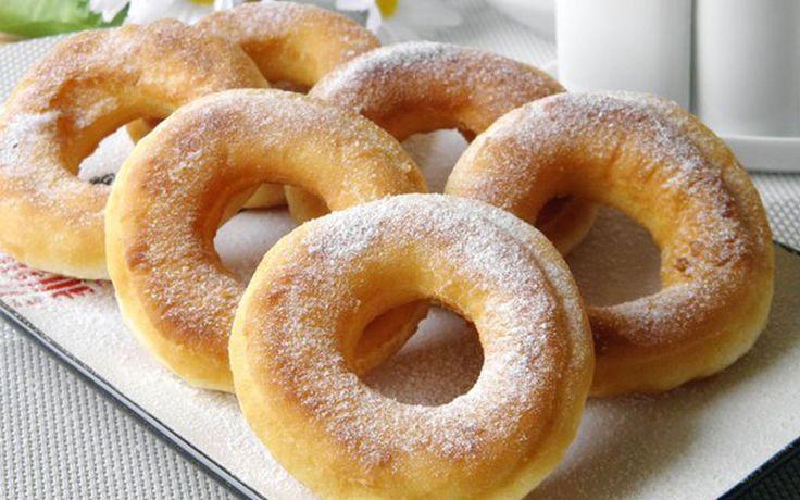 Пончики на кефире – Вкусные Рецепты