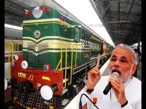 Railways shaped my life no privatisation says Narendra Modi