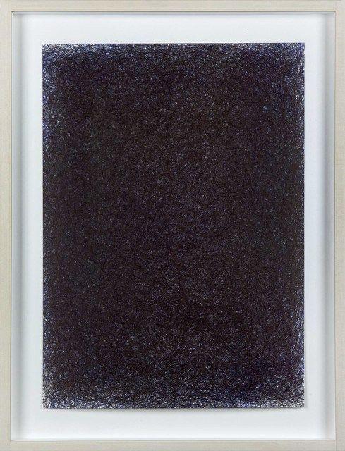 Irma Blank, 'Ur-schrift ovvero Avant-testo, 7-3-98,' 1998,Ballpoint pen on…