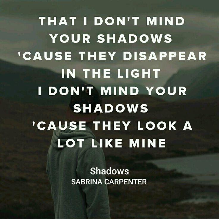 SABRINA CARPENTER       SHADOWS EVOLUTION