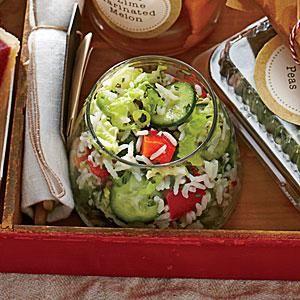 Summer Rice Salad   MyRecipes.com