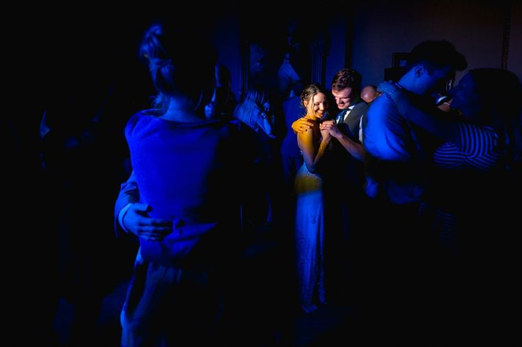 Bride and Grooms first dance at their summer wedding at Orchardleigh House Somerset