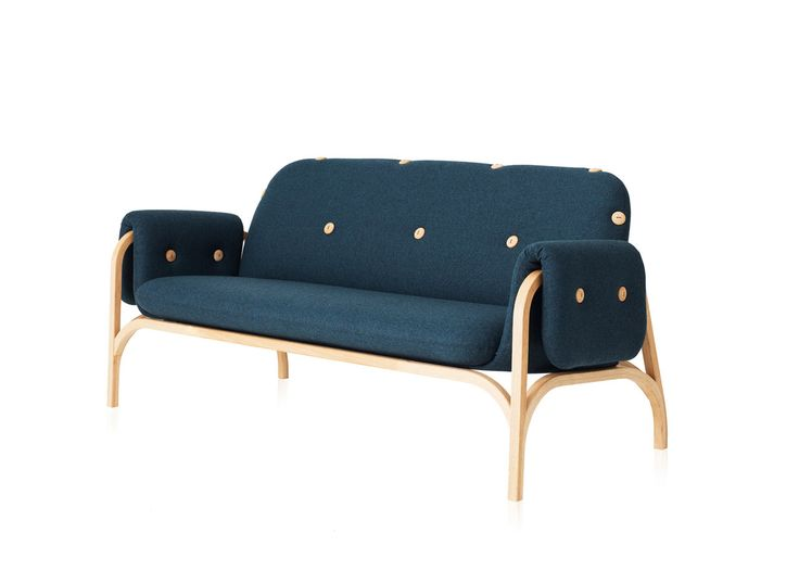 Sofia Lagerkvist and Anna Lindgren are the duo behind Swedish studio Front and they launched the Button Sofa for Swedese, a Swedish furniture manufacturer.