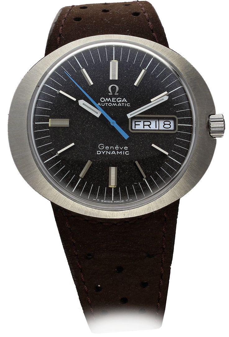 OMEGA Genève Dynamic Wristwatch - Somlo Antiques & OMEGA Vintage