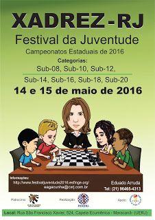 Xadrez: Festival de Xadrez da Juventude da FEXERJ. - 2016