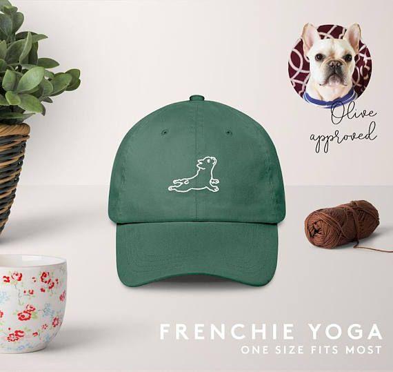 Frenchie Yoga Hat French Bulldog Stretch French Bulldog