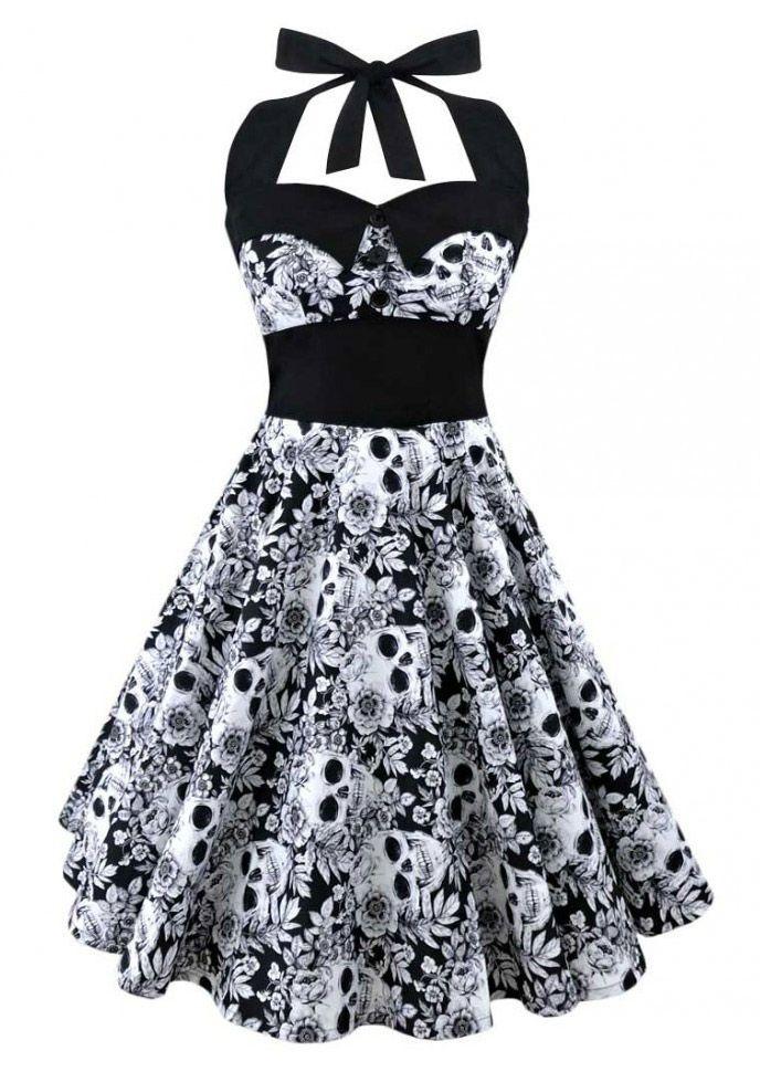 Robe Retro Pin-Up Rockabilly Ashley  Dress