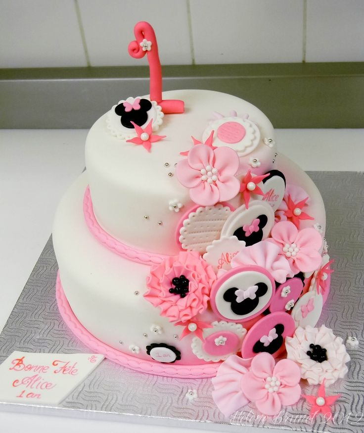 22 best mickey mouse cakes images on Pinterest Minnie mouse cake