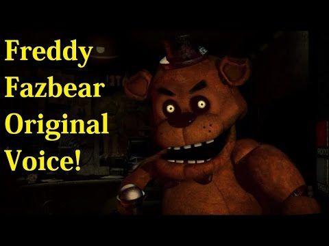 Freddy Fazbear Original Voice (Five Nights At Freddy's)