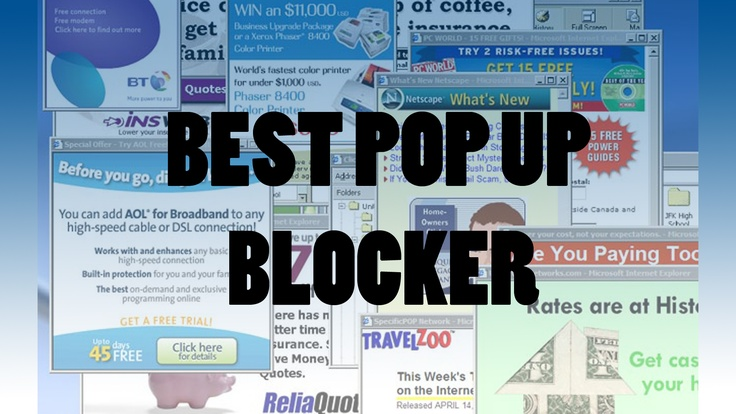 Hook yourself up with the best pop up blocker on the internet. Check out the step by step instructional video how to get yourself up and running in minutes!