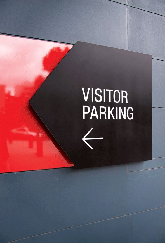 #signage - red and black. 3M Project Vitality by THERE : Image 21 of 23