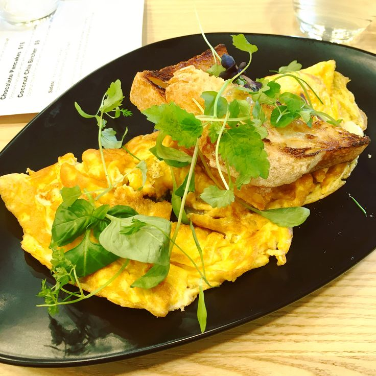 St. Cooper Cafe (North Melbourne): Three Cheese Omelette [9/10].