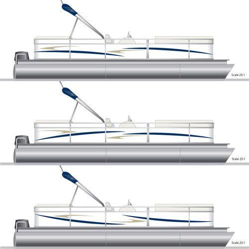 Best On Tha Pontoonnnn Images On Pinterest Boats Pontoon - Boat decalsbayliner spectruminch pontoon boat decal set ofgreat