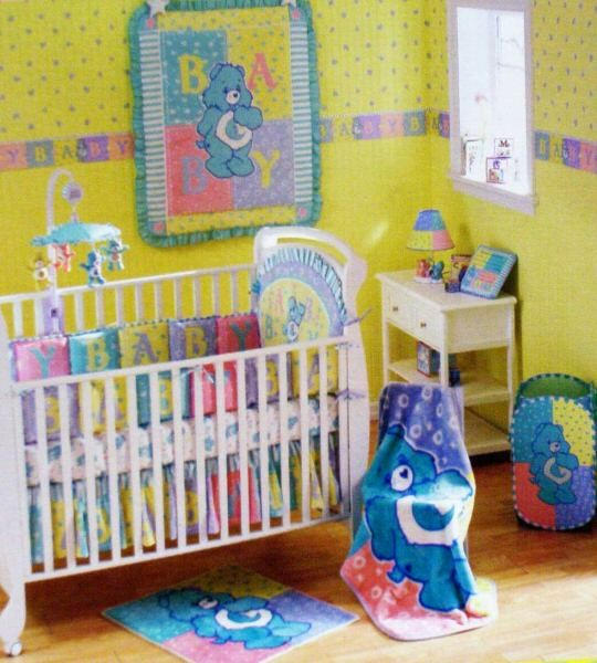 This Care Bears Room Would Be Great For A Boy Or Girl