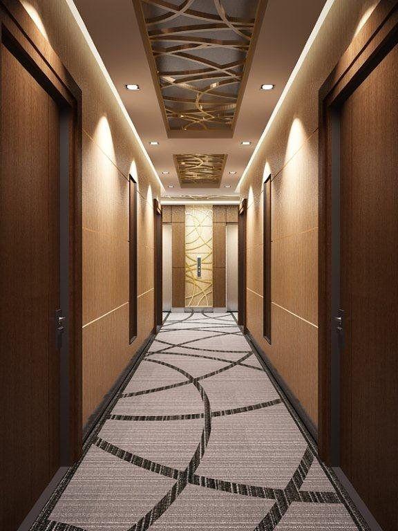 Corridor carpet modern pinterest hotel corridor for Hotel corridor decor
