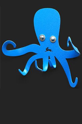 1000 ideas about octopus mouth on pinterest pinch pots clay projects and clay monsters - Coat hook octopus ...