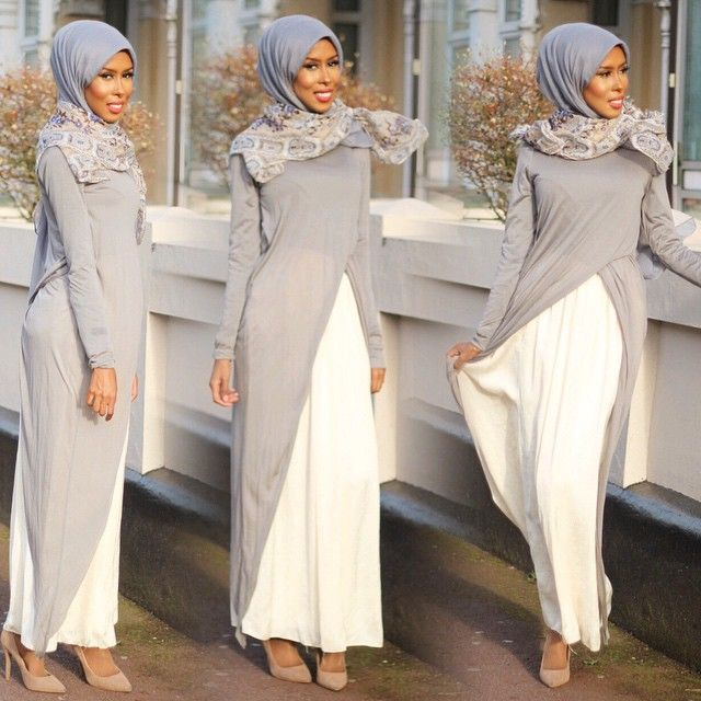 Hijab dress from @dressaddict_da by Basma K
