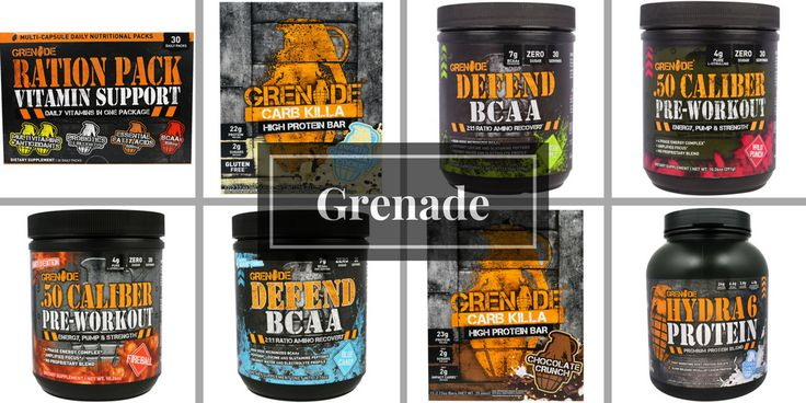 Up to 40% OFF on GRENADE from #iHerb $5 + 5% OFF for first-time customers with code IHERBNEW5 and TWG505 #RT #Deals