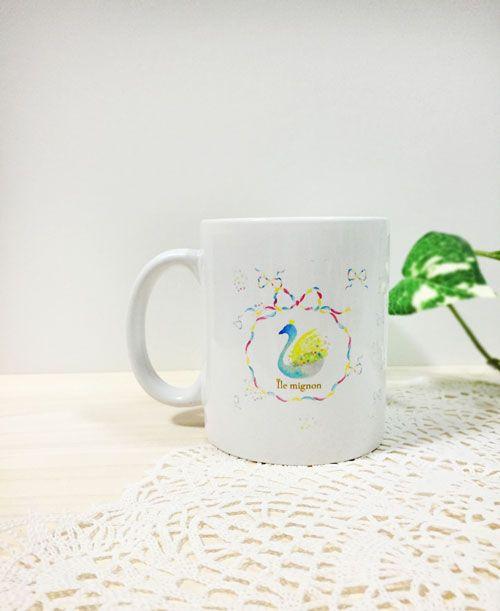 スワンマグカップ