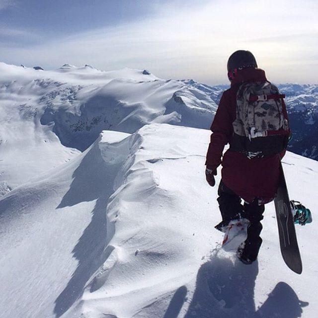Annie Boulanger, Salomon Snowboards athlete, in her element. Picture: @annieboulanger