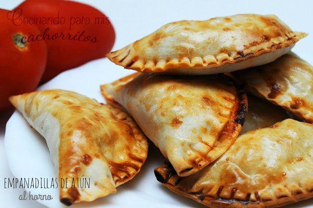 Empanadillas de Atún al Horno - Cocinando para mis cachorritos #elsecretoestáenlamasaTS   La Cocina Typical Spanish