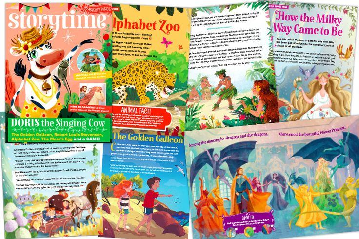 6 stories and 2 poems in every issue and printed on high quality stock so you can keep Storytime forever! Heres's a peek of what's inside Storytime Issue 36 ~ STORYTIMEMAGAZINE.COM